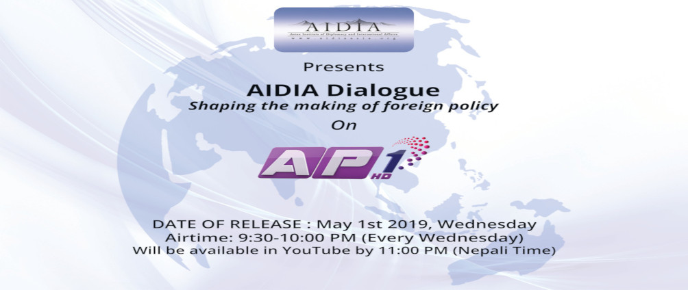 AIDIA Dialogue ... Shaping the Making of foreign policy